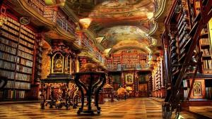 National Library of Prague, Czech Republic. Source bookwilde.org